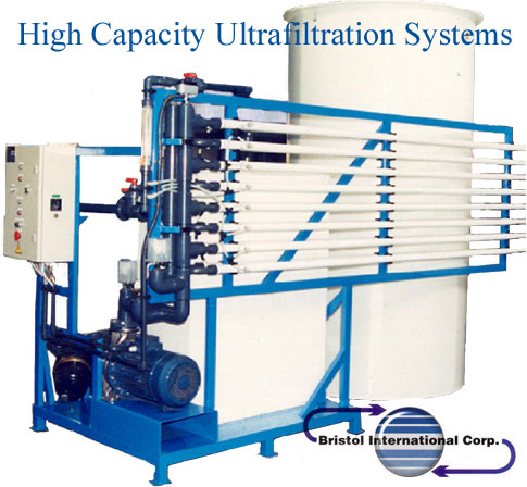 High Capacity Ultrafiltration Systems